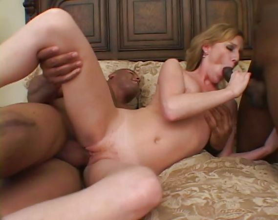 white chick ripping